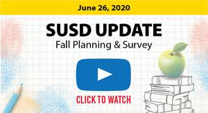 SUSD Update 6-26-20