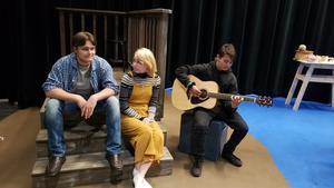 The Shadow Box Rehearsal