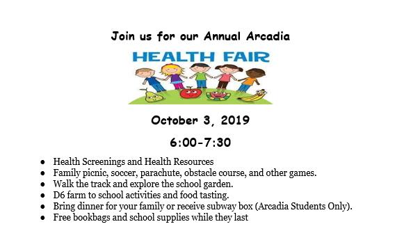 Health Fair English