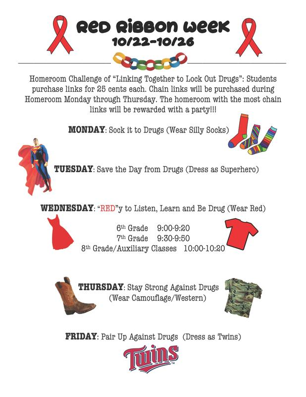 Show Your Support During Red Ribbon Week!!! Thumbnail Image