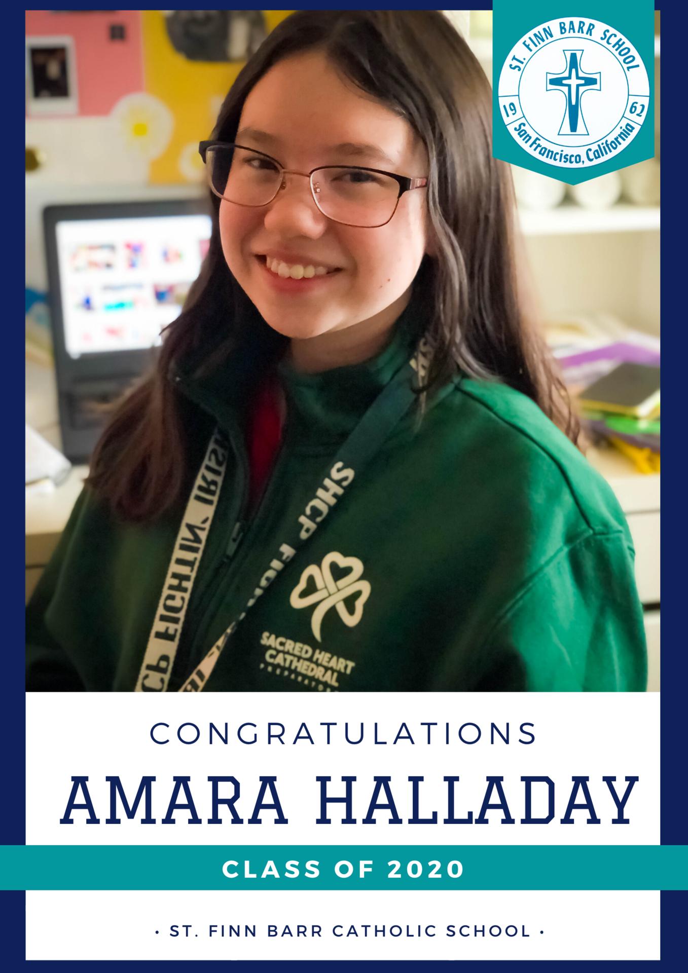 Amara Halladay Spotlight