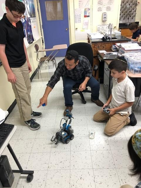 Robotics Club Competition Featured Photo