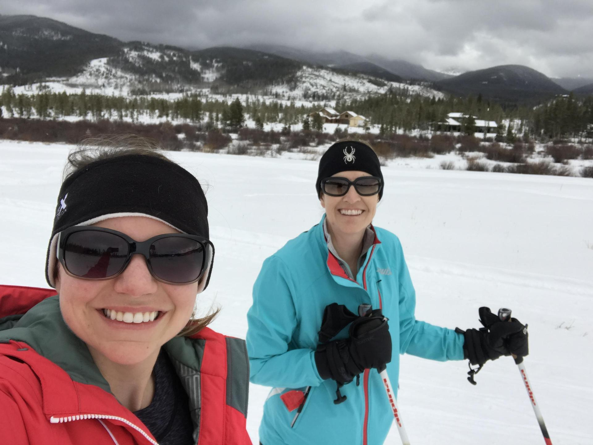 Cross Country skiing with Ms. Cutshall, 2018