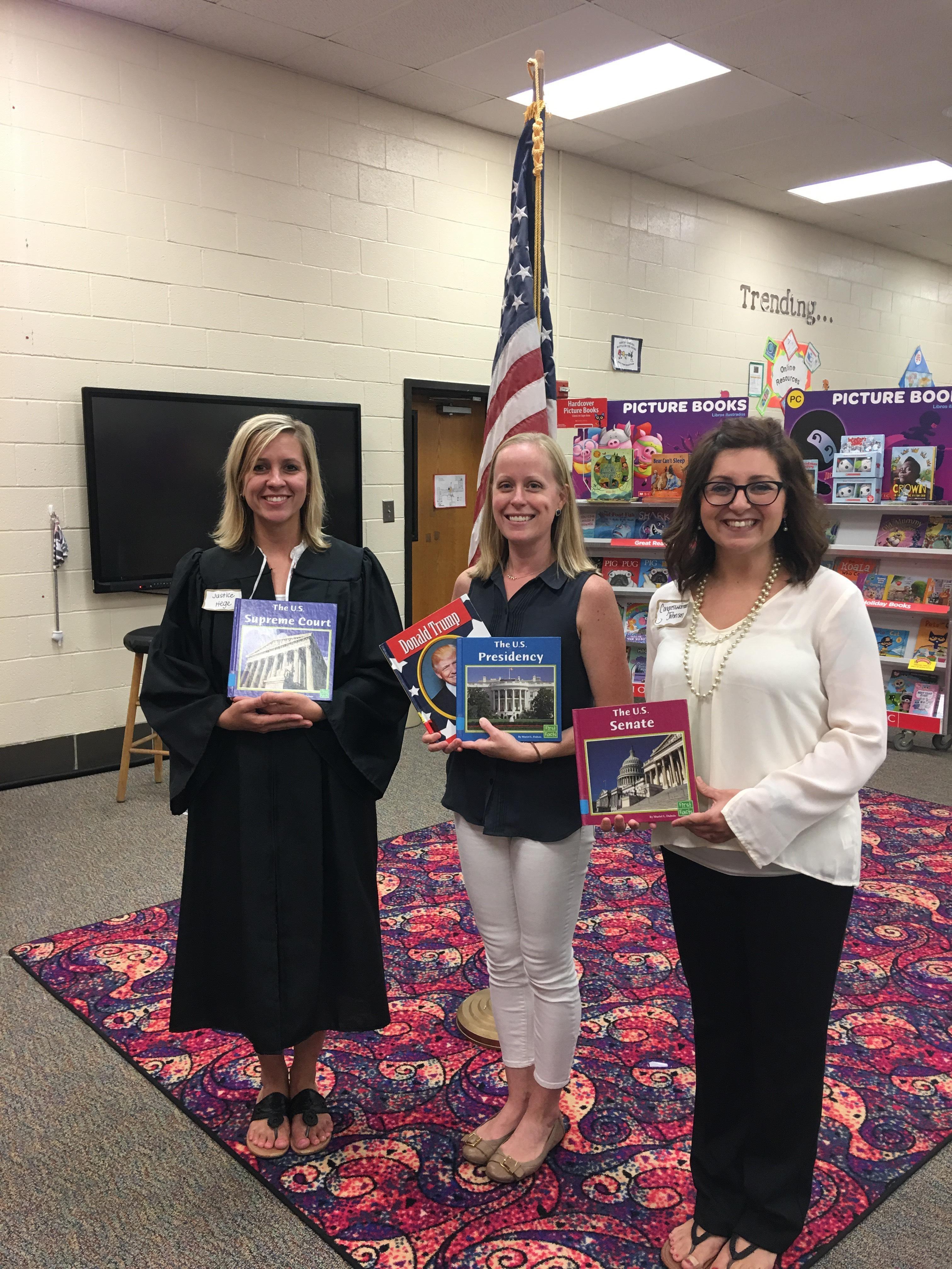 Third/Fourth Grade Teachers Government Study