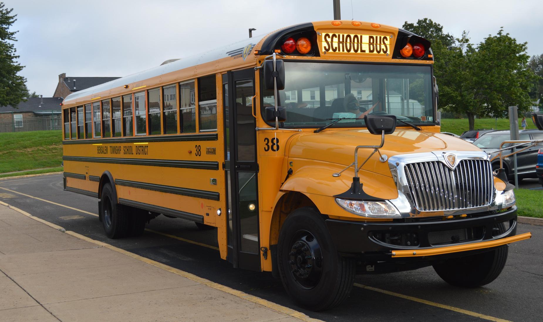 Bensalem yellow school bus #38