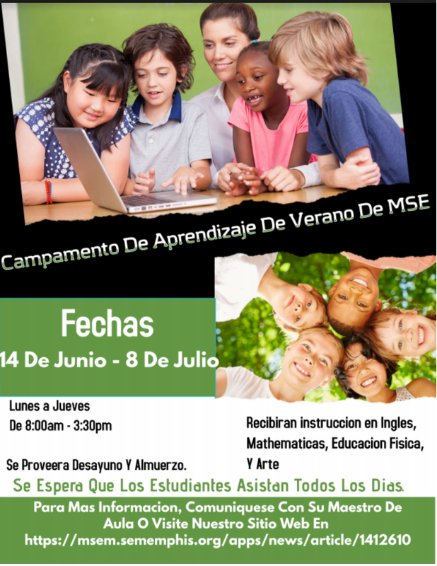 Campamento De Aprendizaje de Verano de MSE