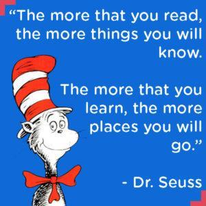 Dr. Seuss places you will go