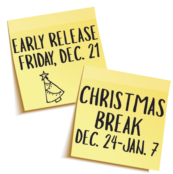 Christmas Break December 24-January 7 Thumbnail Image