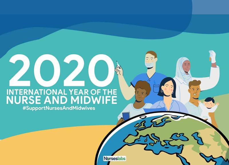 year of nurse and midwife poster