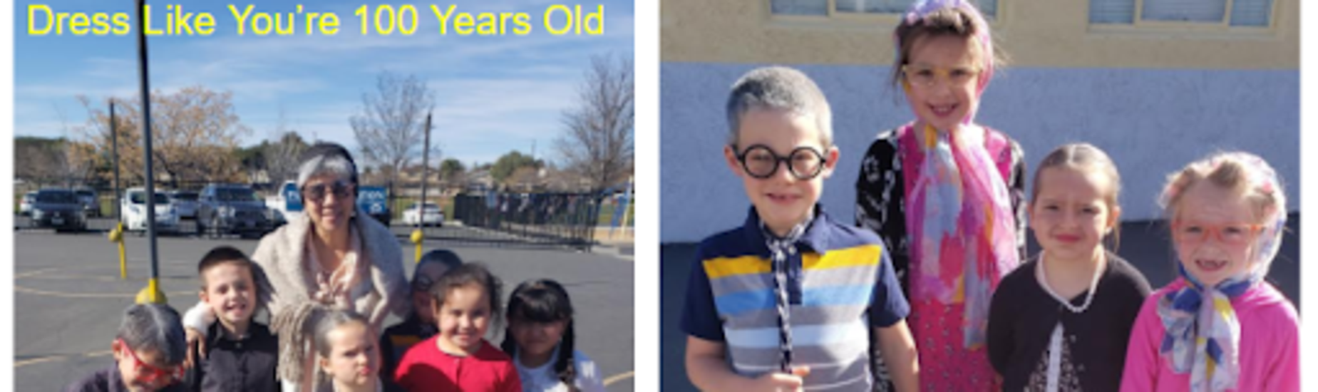 Dress like you're 100 years old