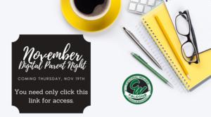November Virtual Parent Night