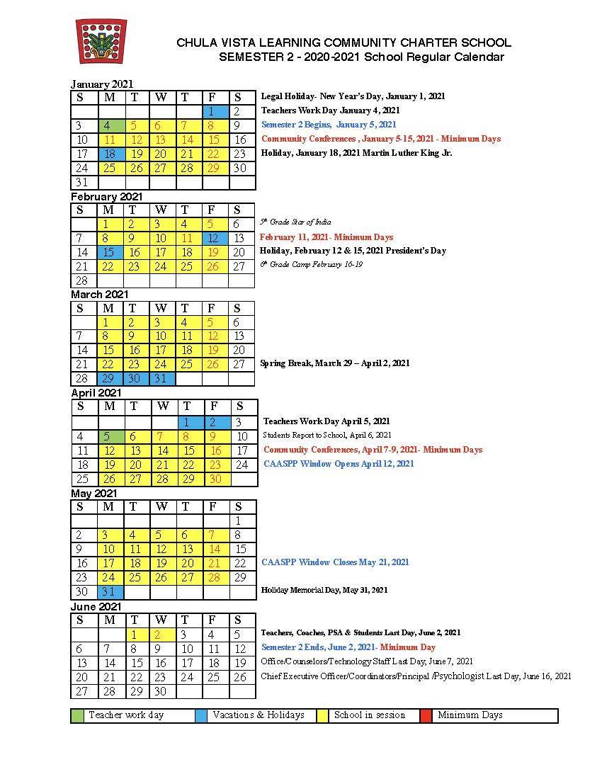 Cvesd Calendar 2021-22 Photos