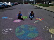 Earth Day Sidewalk Chalk