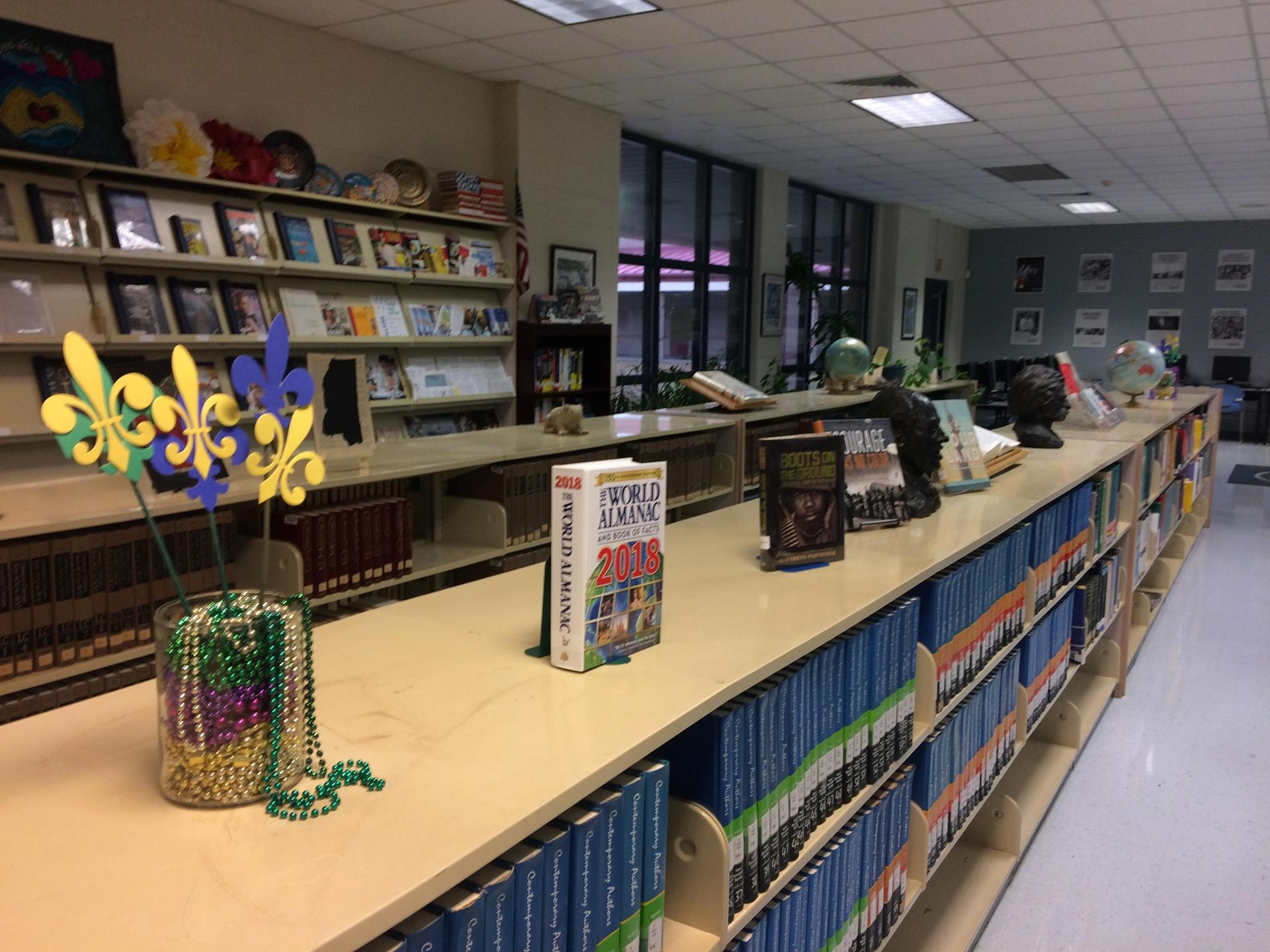 Reference area display