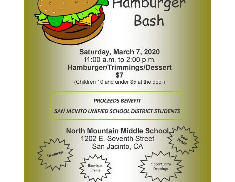 Old Fashioned Hamburger Bash at NMMS on March 7, 11am-2pm