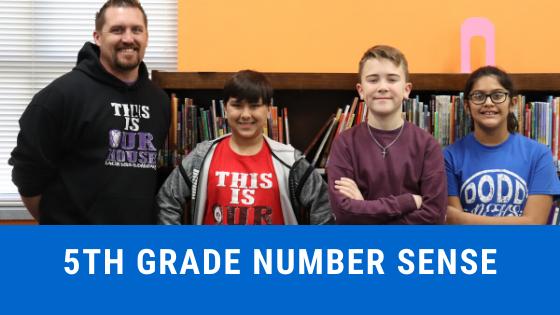 5th grade number sense