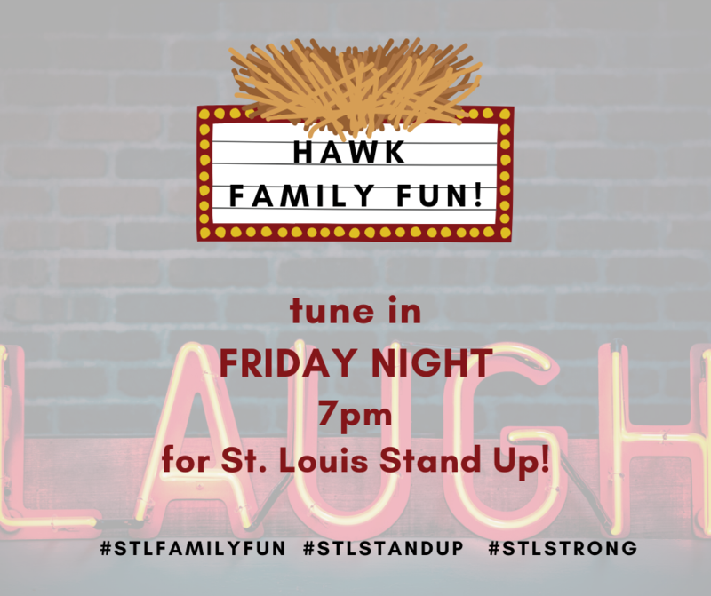 Hawk Family Fun - St. Louis Stand Up, March 27 Featured Photo