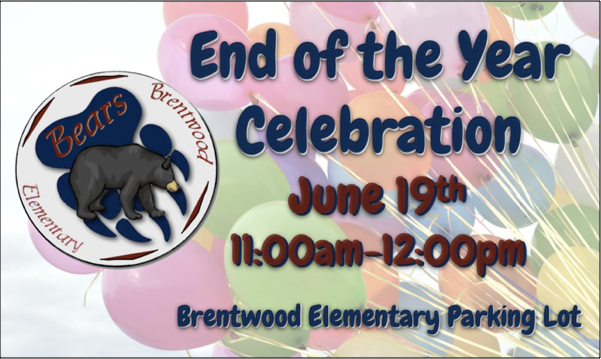 End of year celebration