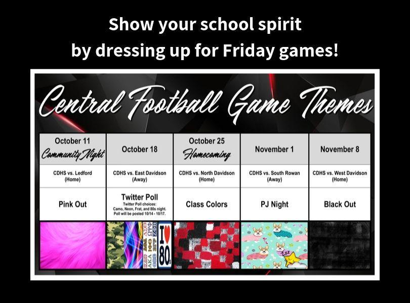 Friday Game Dress Up Themes