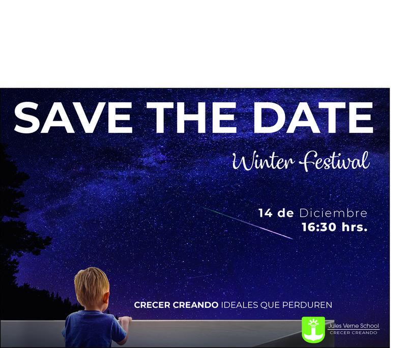 WINTER FESTIVAL Y BAZAR: 14 de diciembre 16:30 hrs. Featured Photo