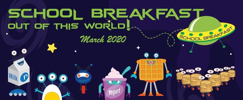 National School Breakfast Week Poster