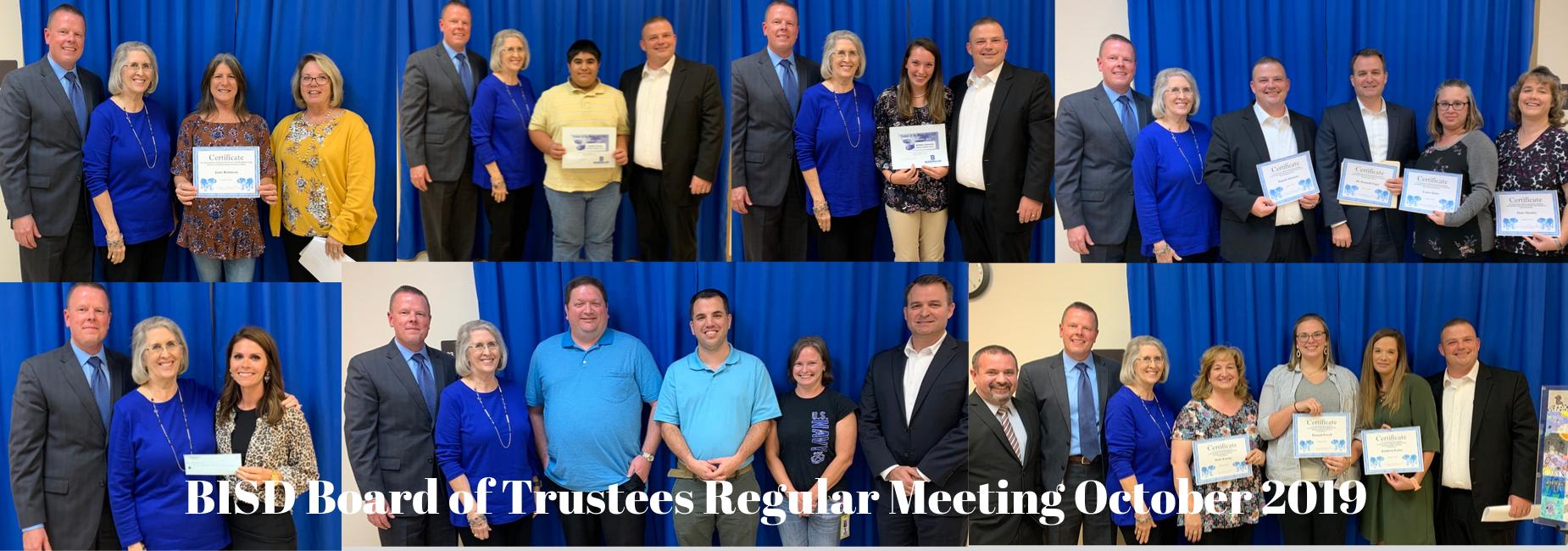Board Meeting October 2019