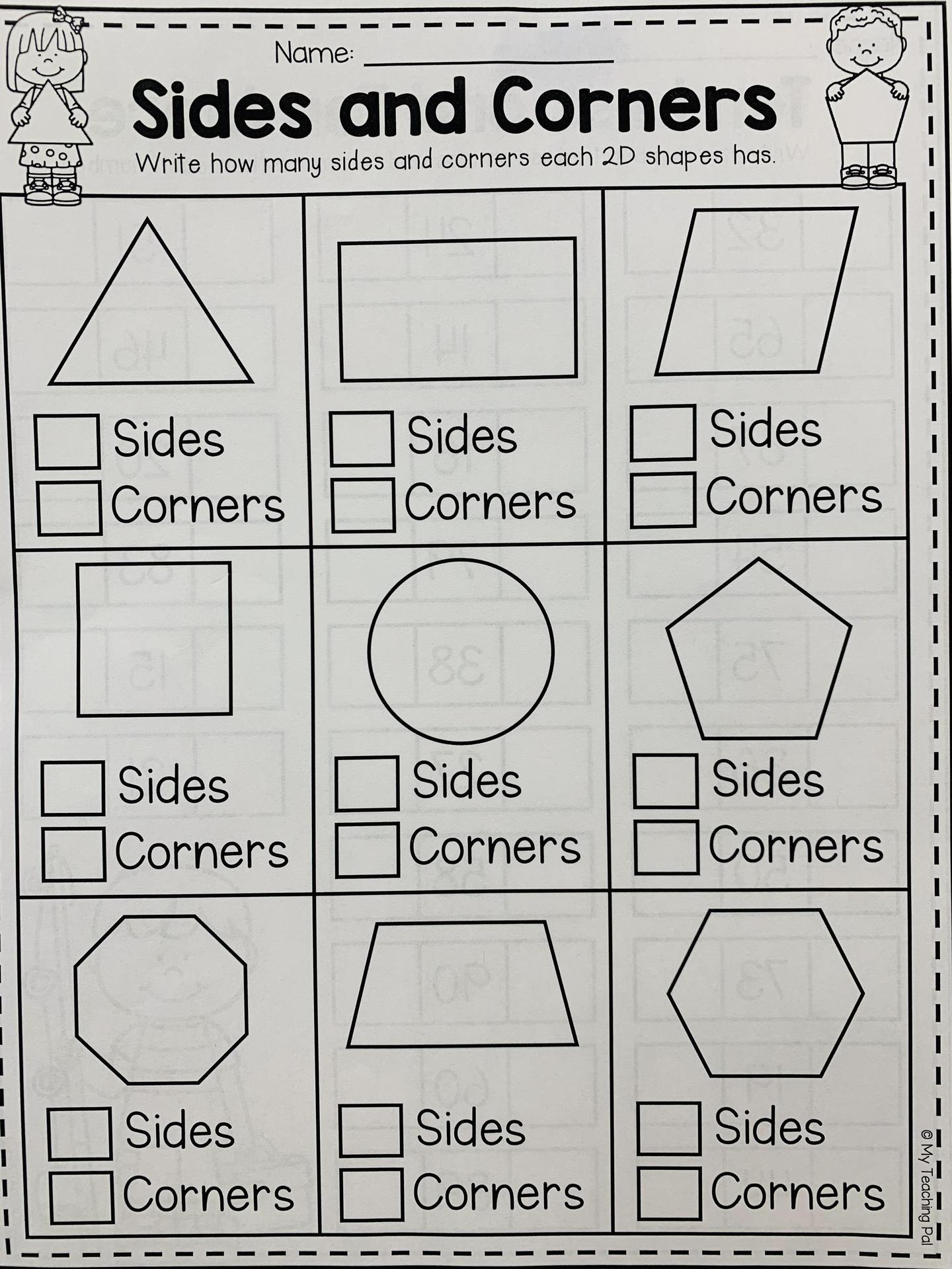Sides and corners
