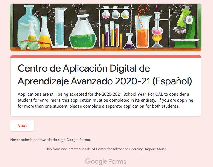 CAL Digital De Aprendizaje Avanzado 2020-21
