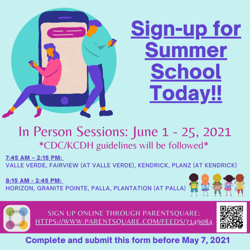 Summer School Applications Thumbnail Image