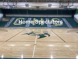 Home basketball layout