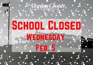 Classes canceled Wednesday