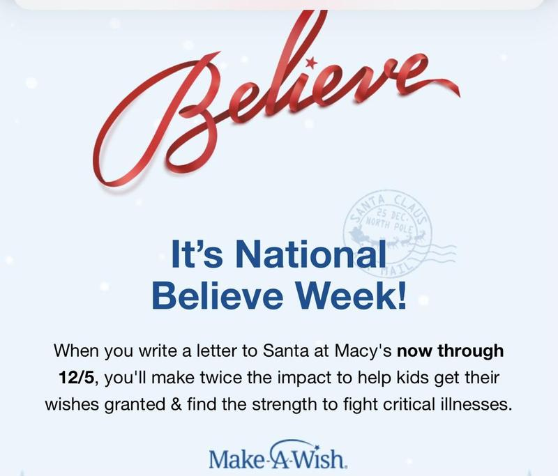 Union Catholic Is Once Again Participating In The Macy's Believe Campaign Thumbnail Image