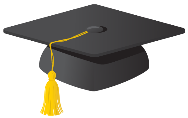 Grad Cap Clip Art