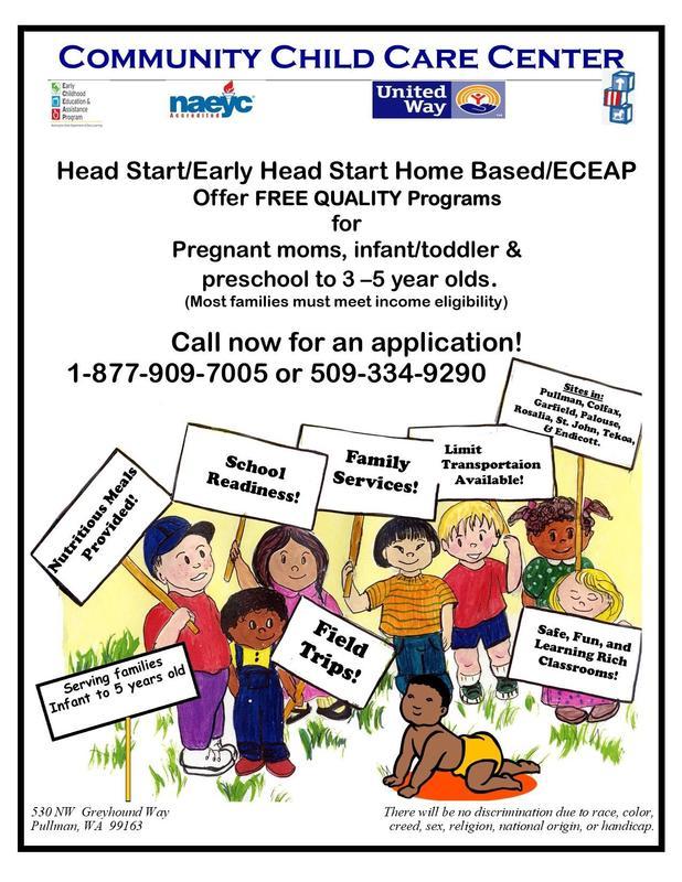 Community Child Care Center - Enrollment Information Thumbnail Image