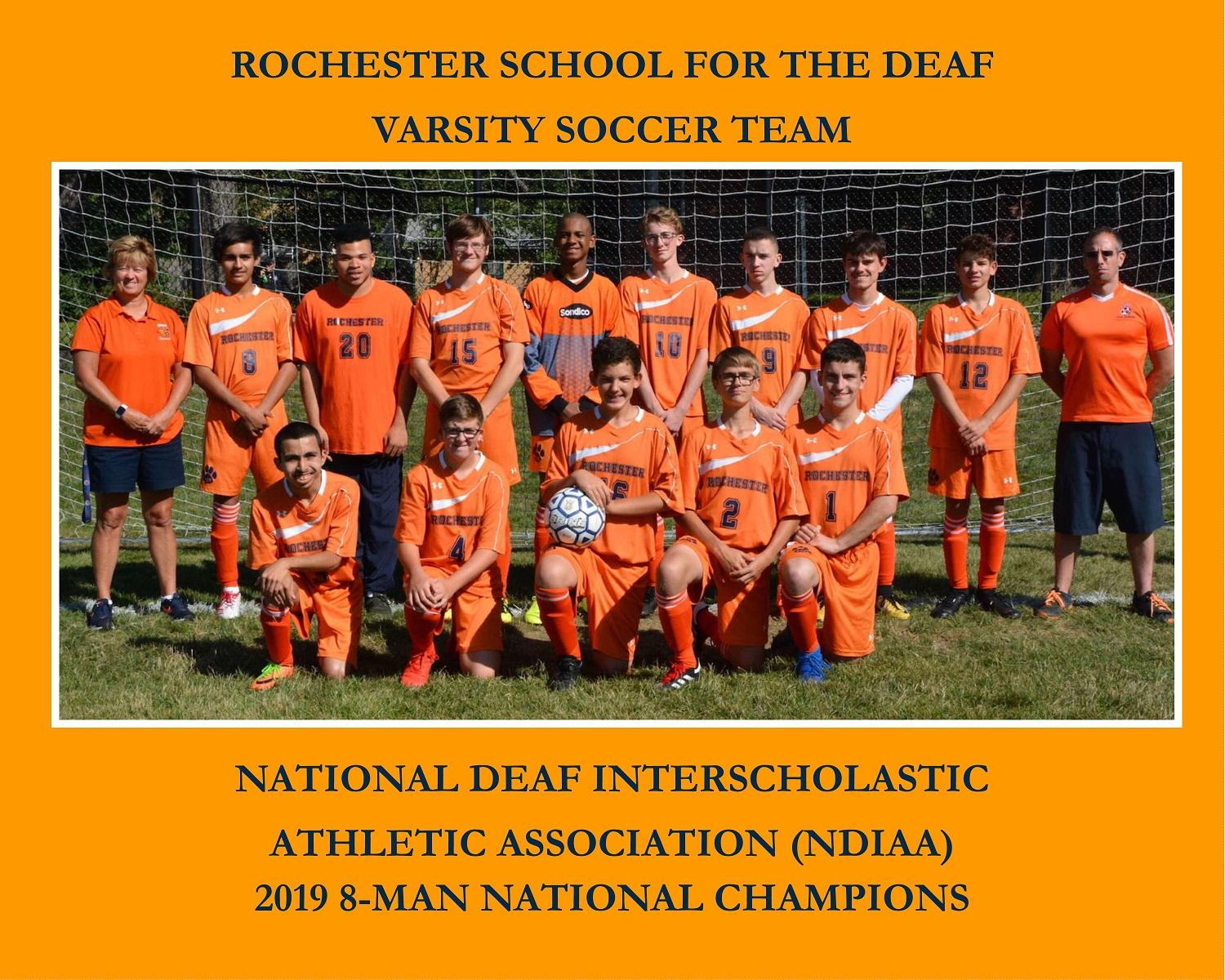 RSD NDIAA 2019 Division II Soccer Team of-the-Year