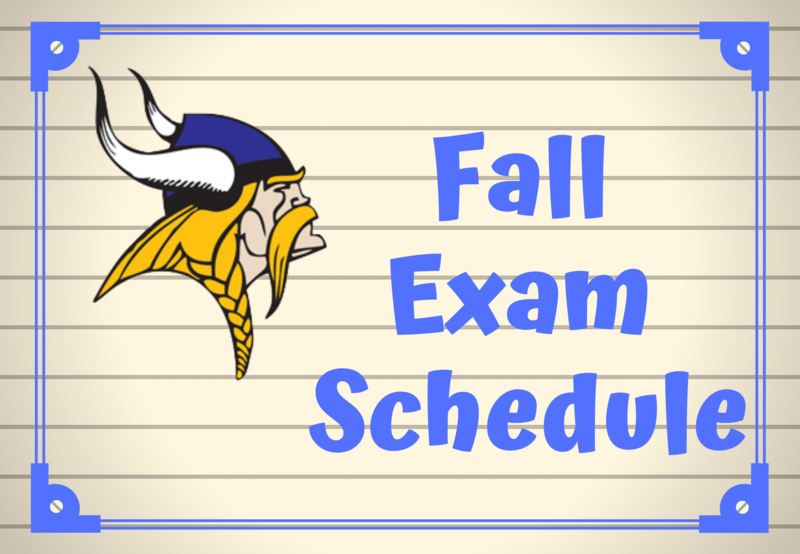 Click Here for the Fall Exam Schedule Thumbnail Image
