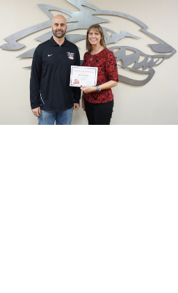 picture of dr. hirschi and Rachelle Meats