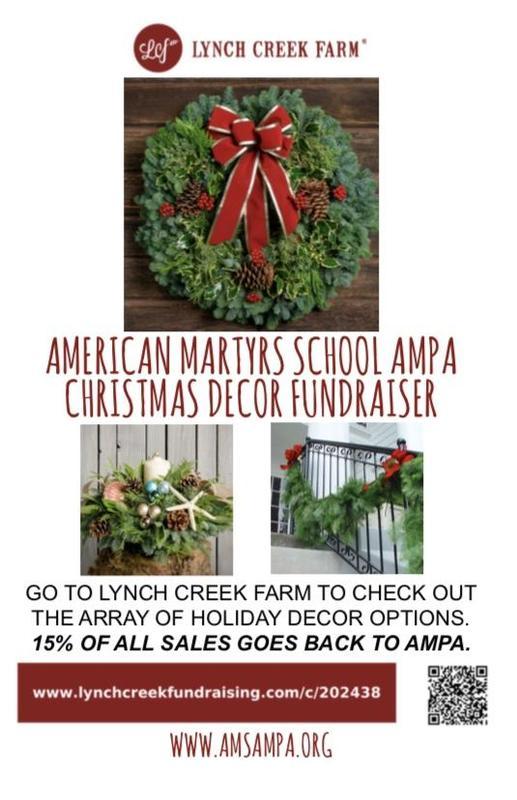 AMPA Christmas Decor Fundraiser Featured Photo