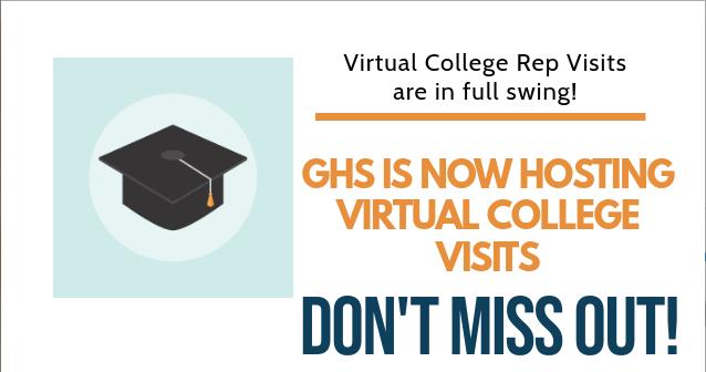 GHS Virtual College Visits