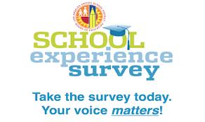 School Experience Survey / Encuestra de Experiencia Escolar Featured Photo