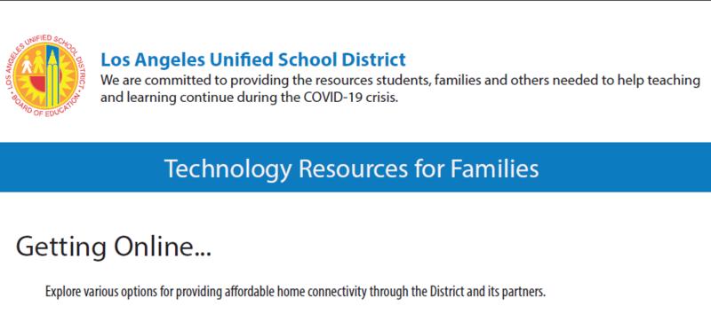 Technology Resources for Families / Recursos tecnológicos para familias Featured Photo