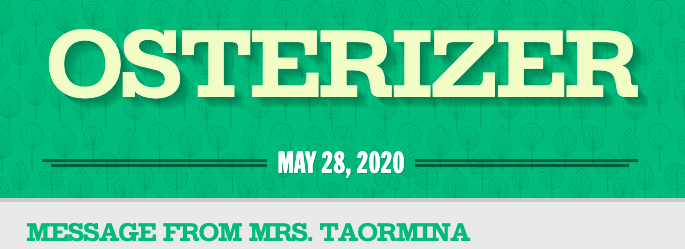 Osterizer May 28th, 2020 Featured Photo