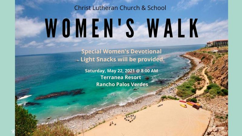 Woman's Walk - May 22 from 8:00 am - 10:00 am (Offsite) Featured Photo