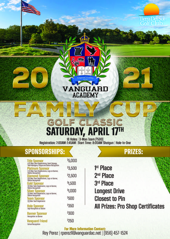Vanguard Family Cup Golf Classic Featured Photo