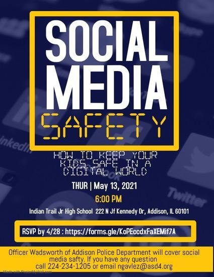 Social Media Safety Night Featured Photo