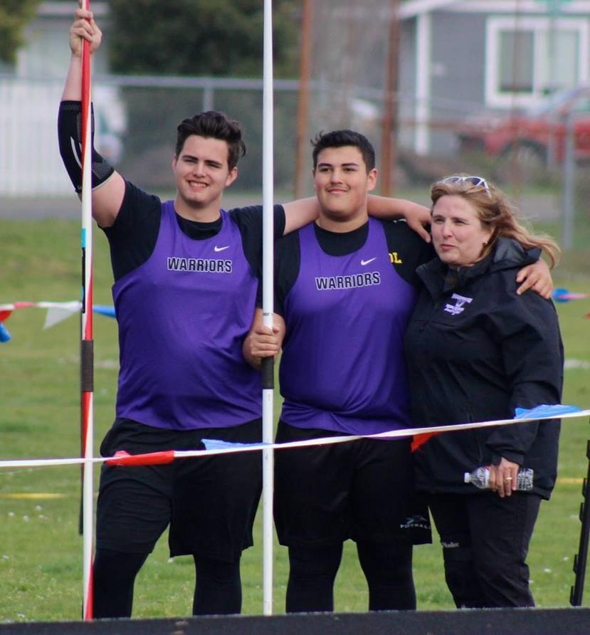 Javelin throwers