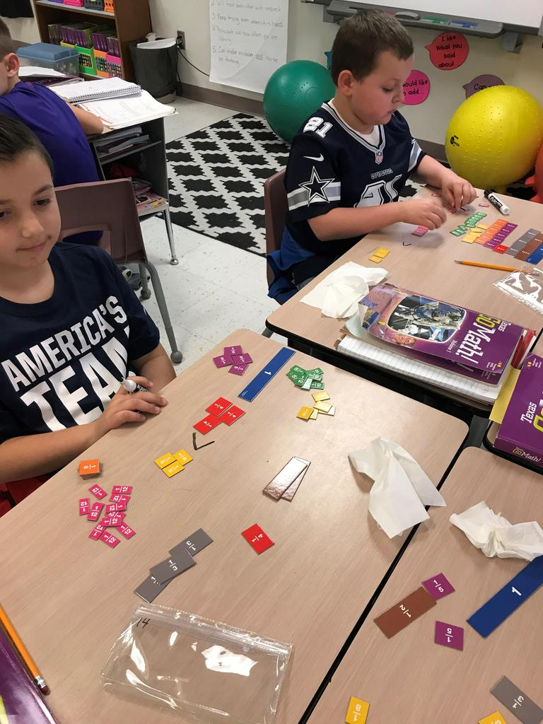 using fraction strips to find equivalent fractions and to compare factions