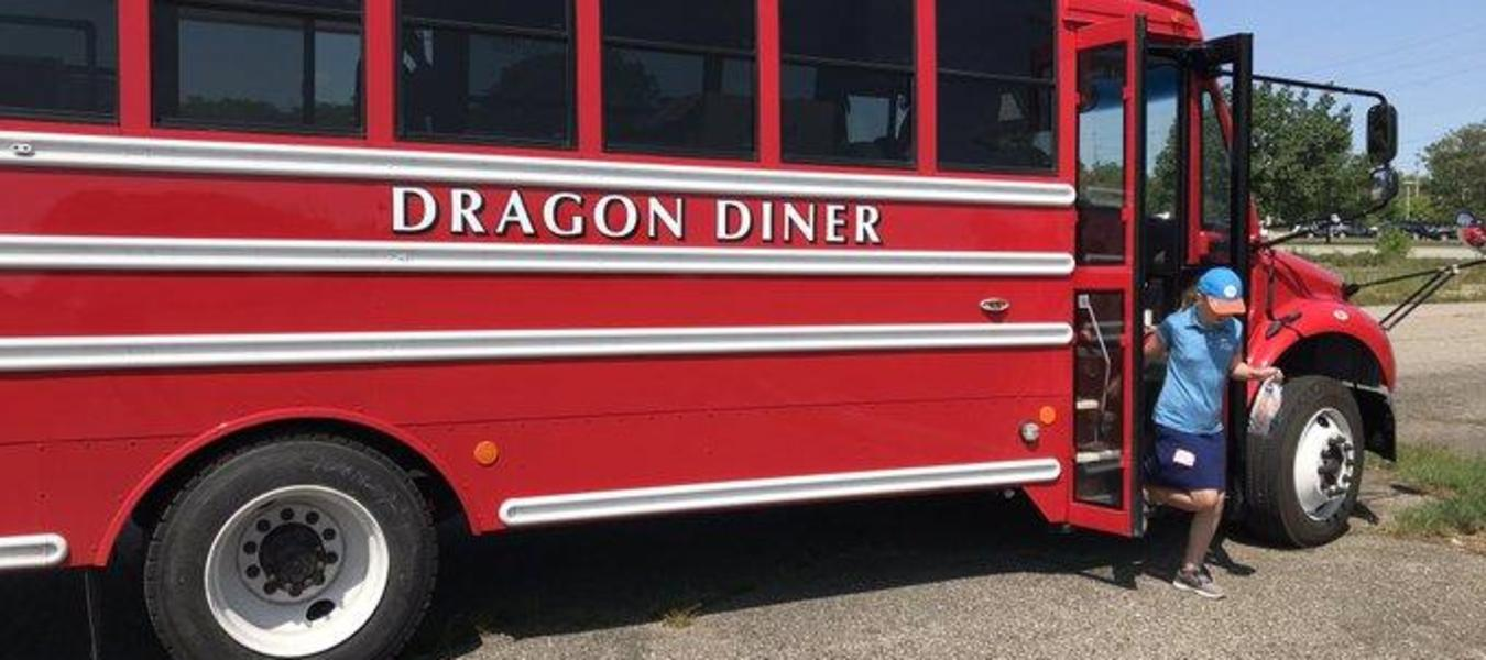 New Dragon Diner is on the road!