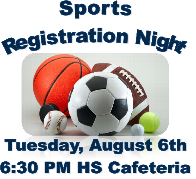 Sports Registration Night
