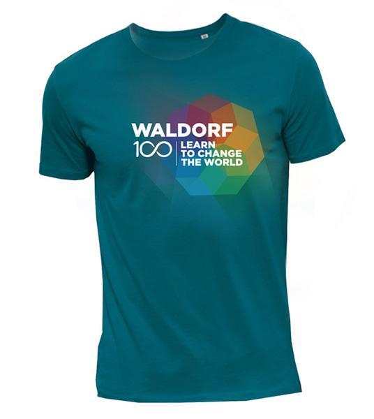 To Purchase Your Celebratory Waldorf100 T-Shirt, Click Here